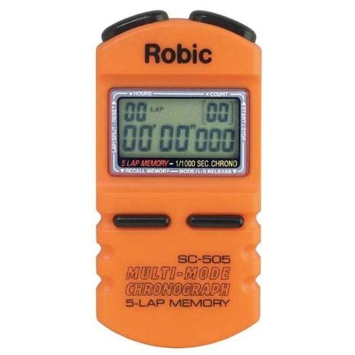 Olympia Sports TL182P Robic SC-500 5 Memory Timer - Orange