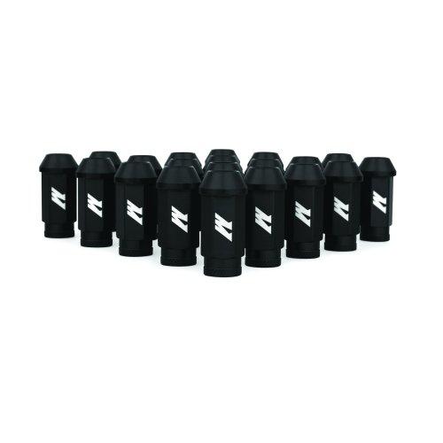 Mishimoto MMLG-125-LOCKBK  Aluminium Locking Lug Nuts, M12 x 1.25, Black