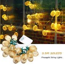 Christmas Pineapple Fairy String Light Lamp