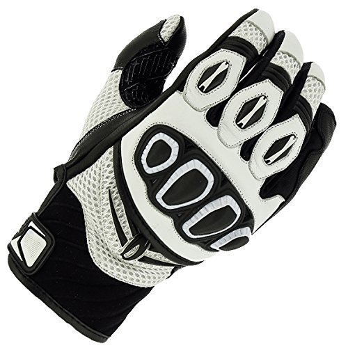 Richa Turbo White Summer Motorcycle Gloves