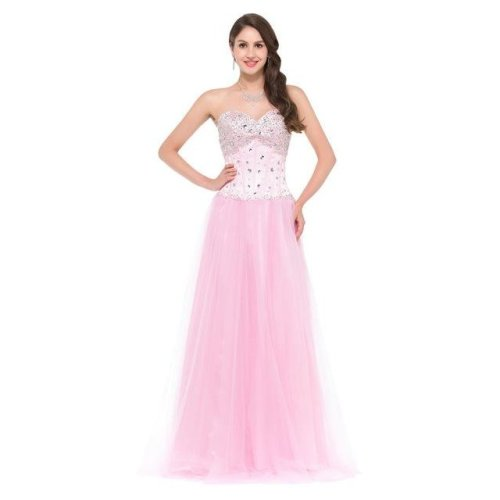 Free Shipping Blue White Pink Bridesmaid Dresses Crystal Tulle Party Dress for Wedding Junior Ball Gown Bridesmaids Dress